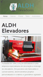 Mobile Preview of aldhelevadores.com.br